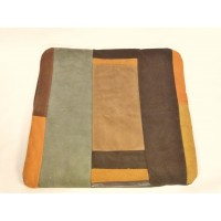 Cushion cover in suede